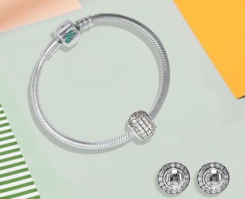 sterling silver charm bracelets for girls