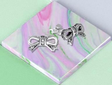 sterling silver charm earrings