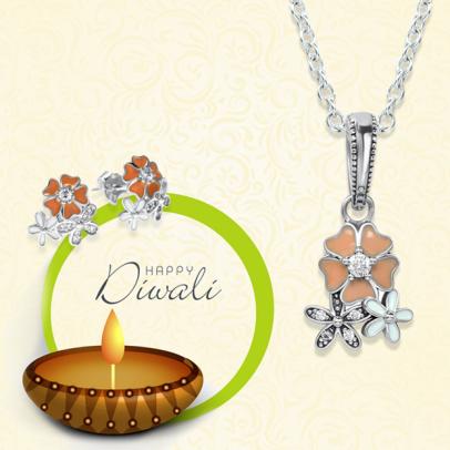 Buy Sterling SilverJewelry for Diwali