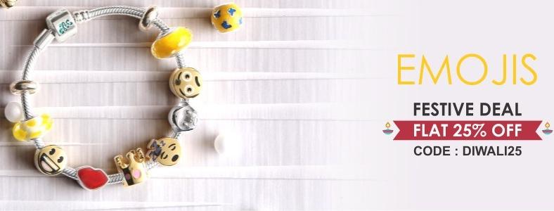 Emoji Charms Jewelry Online
