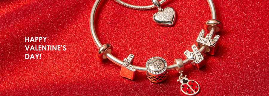 Valentine Special Sterling Silver Charm