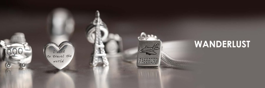 sterling silver charms bracelet for Girls